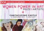 """Woman Power in Art"" la Castelul Cantacuzino Busteni 2019 - Pliant Catalog expozitie"