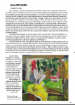 Alma REDLINGER in Albumul - Catalog Women Power in Art de la Castelul Cantacuzino Busteni 2019
