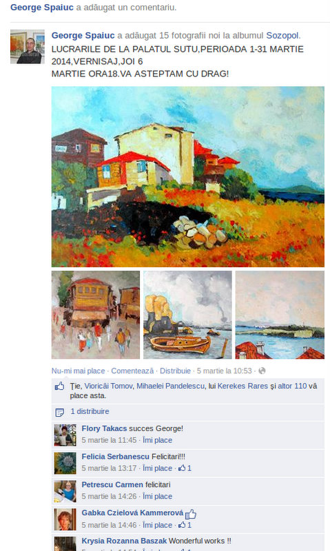 GEORGE SPAIUC pe facebook