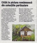 "Expozitia ""CASA in pictura romaneasca"" in publicatia TOP BUSINESS nr. 834 (6) iunie 2013"