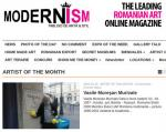 "Vasile Muresan Murivale - ""ARTIST OF THE MONTH"" pe www.modernism.ro in ian. 2015"