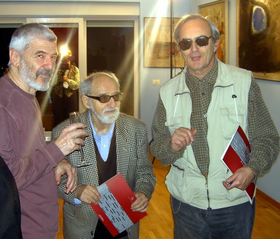 Mihai MACRI, Ion SALISTEANU, PK la Veroniki Art in 18 nov. 2008